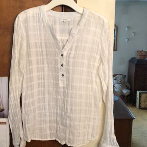 MAURICES white blouse